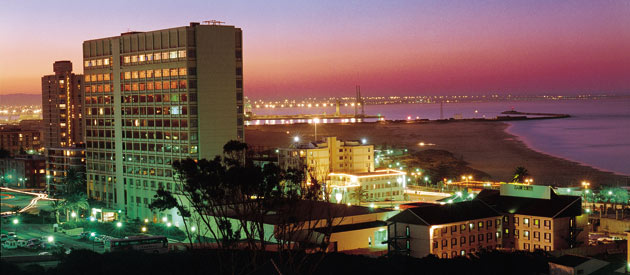 The Bay of Port Elizabeth (Nelson Mandela Bay) is located on the South-Eastern coast of of the Eastern Cape province of South Africa.